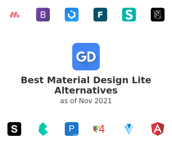 Best Material Design Lite Alternatives