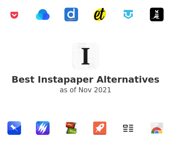 Best Instapaper Alternatives