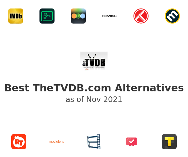 Best TheTVDB.com Alternatives