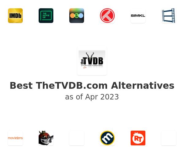 Best TheTVDB.com Alternatives