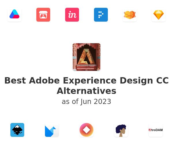 Best Adobe Experience Design CC Alternatives