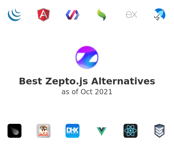 Best Zepto.js Alternatives