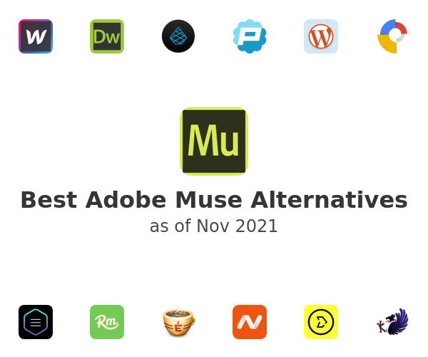 Best Adobe Muse Alternatives