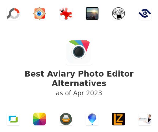 Best Aviary Photo Editor Alternatives