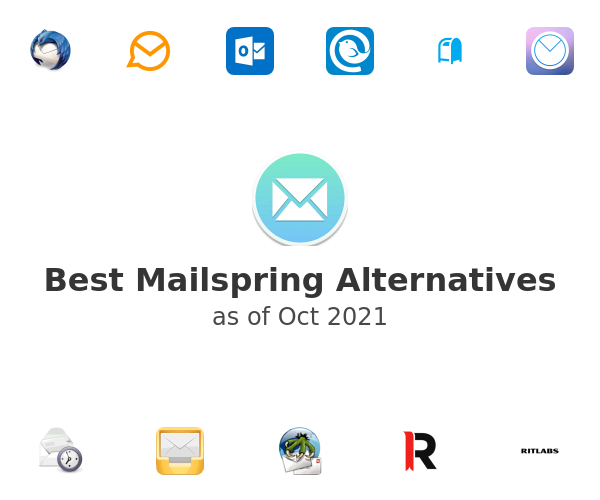 Best Mailspring Alternatives