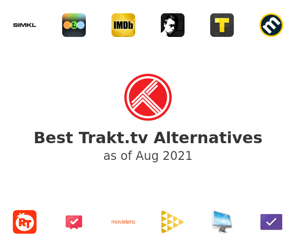 Best Trakt.tv Alternatives