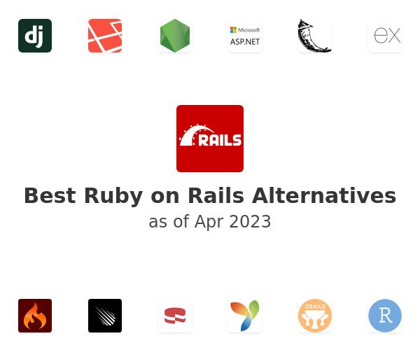 Best Ruby on Rails Alternatives