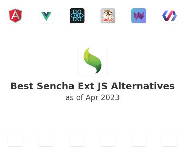 Best Ext JS Alternatives