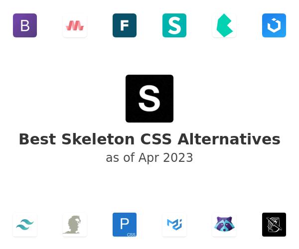 Best Skeleton CSS Alternatives