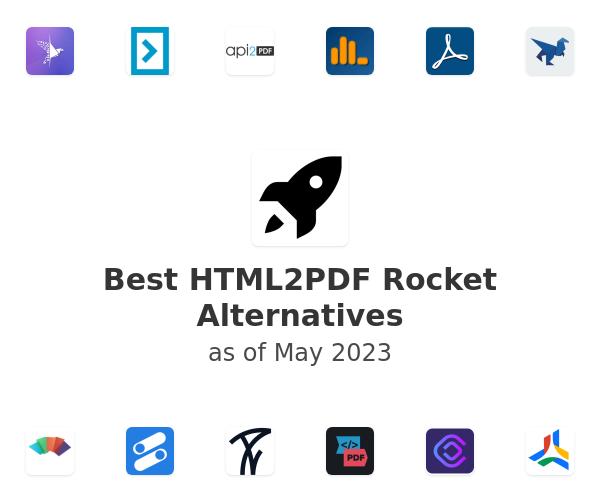 Best HTML2PDF Rocket Alternatives