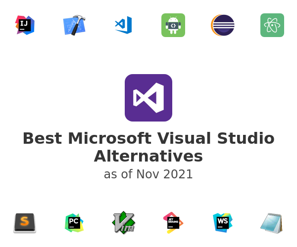 Best Microsoft Visual Studio Alternatives
