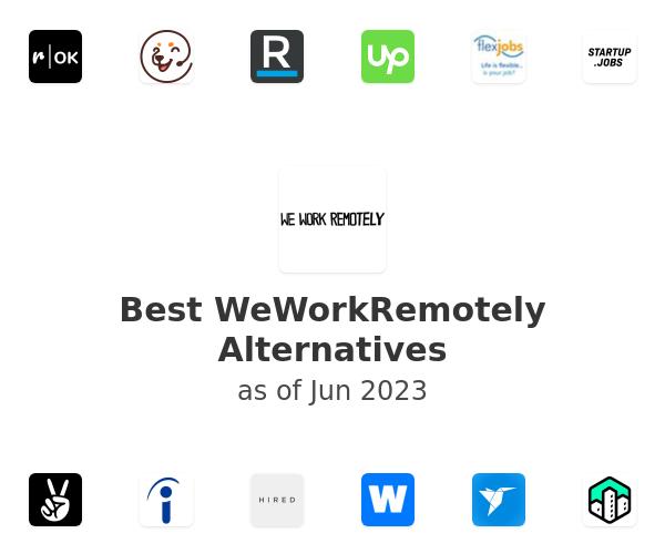 Best WeWorkRemotely Alternatives