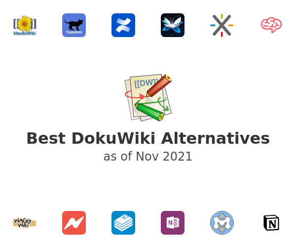 Best DokuWiki Alternatives