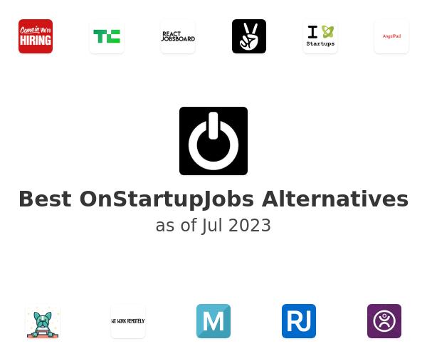 Best OnStartupJobs Alternatives