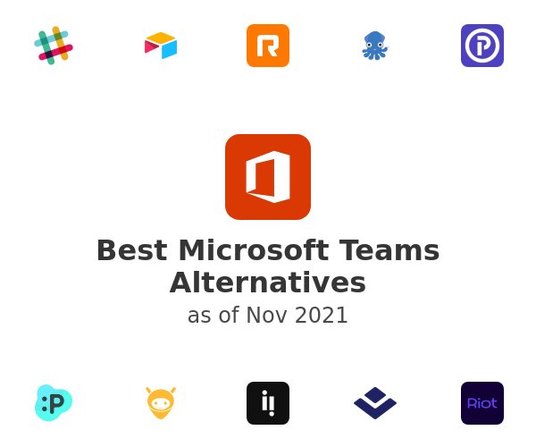 Best Microsoft Teams Alternatives