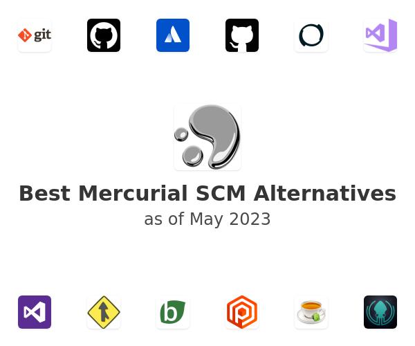 Best Mercurial SCM Alternatives