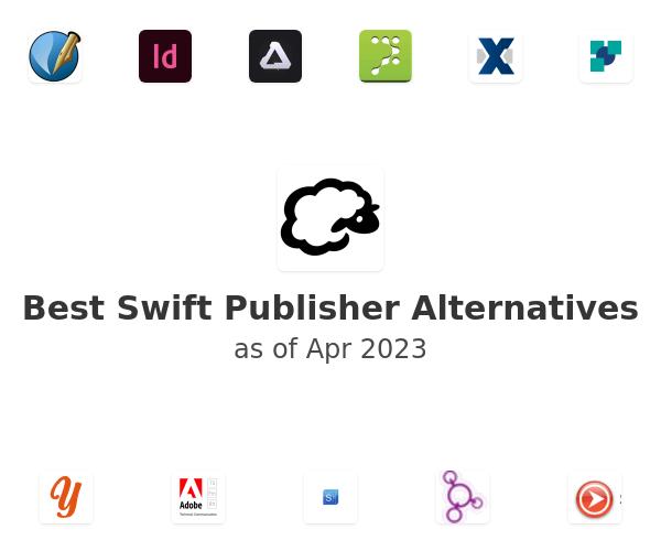 Best Swift Publisher Alternatives