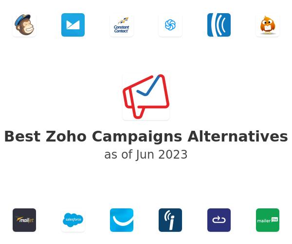 Best Zoho Campaigns Alternatives