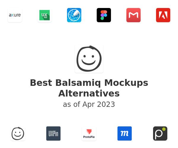 Best Balsamiq Mockups Alternatives
