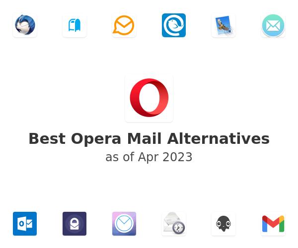 Best Opera Mail Alternatives