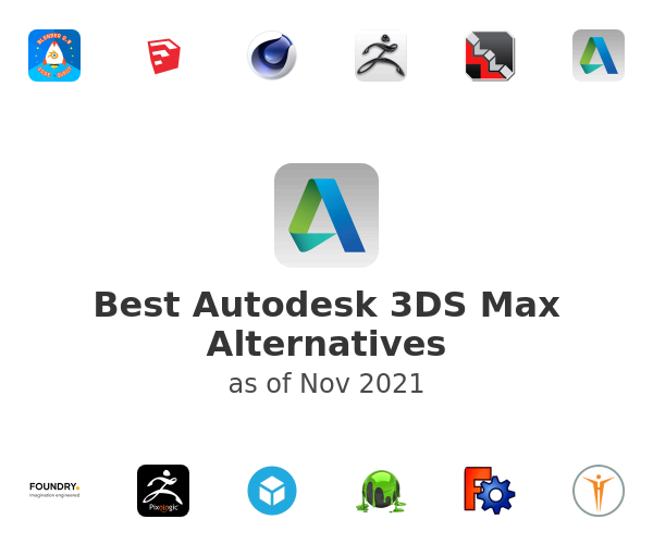 Best Autodesk 3DS Max Alternatives