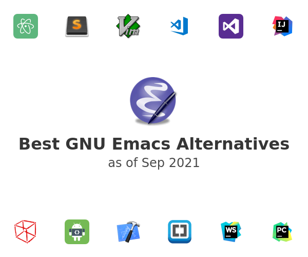 Best GNU Emacs Alternatives