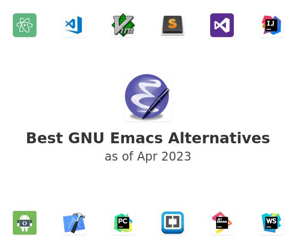 Best GNU Emacs Alternatives