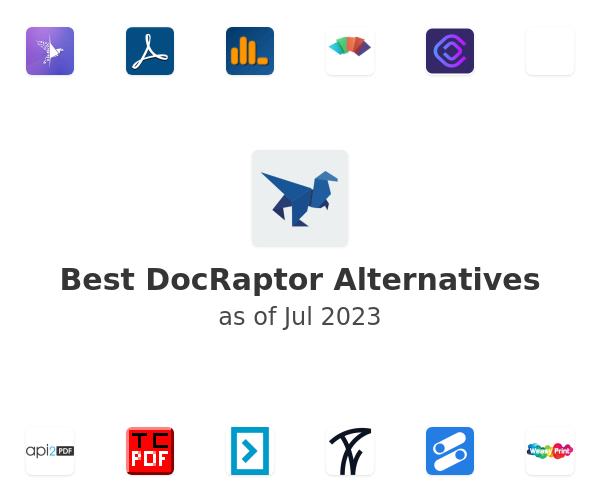 Best DocRaptor Alternatives