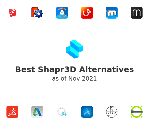 Best Shapr3D Alternatives