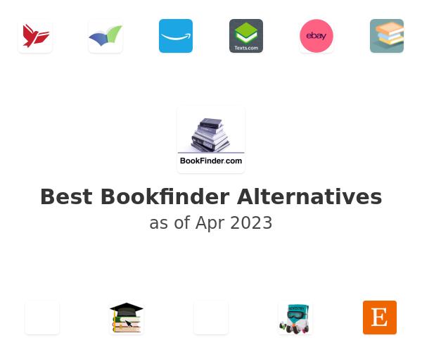 Best Bookfinder Alternatives
