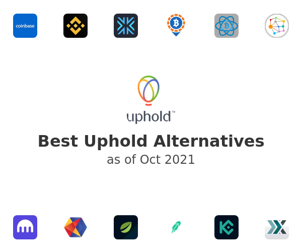 Best Uphold Alternatives