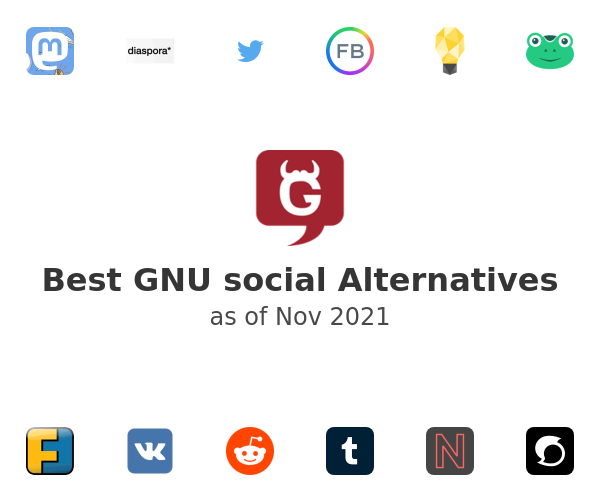 Best GNU social Alternatives