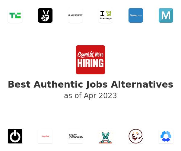 Best Authentic Jobs Alternatives