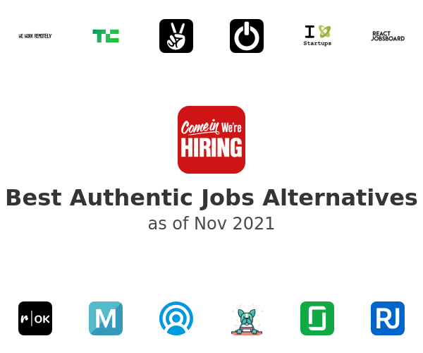 Best Authentic Jobs Alternatives