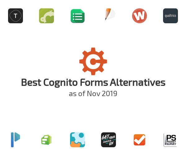 Best Cognito Forms Alternatives