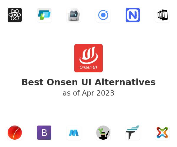 Best Onsen UI Alternatives