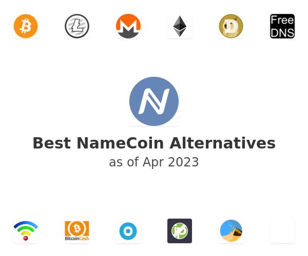 Best NameCoin Alternatives