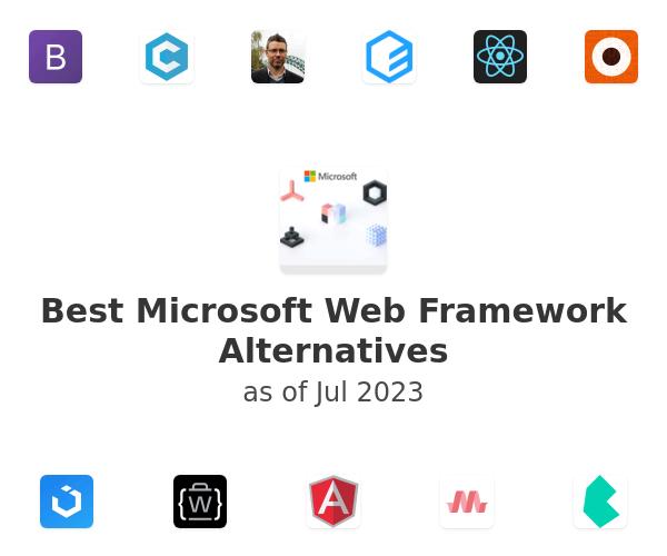 Best Microsoft Web Framework Alternatives
