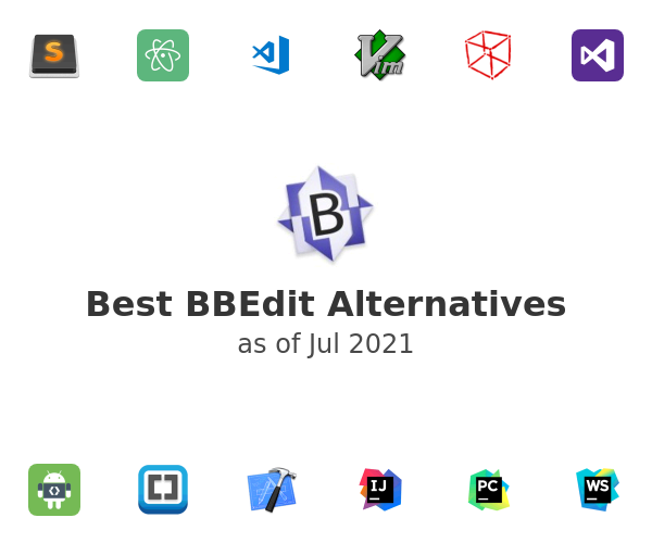 Best BBEdit Alternatives