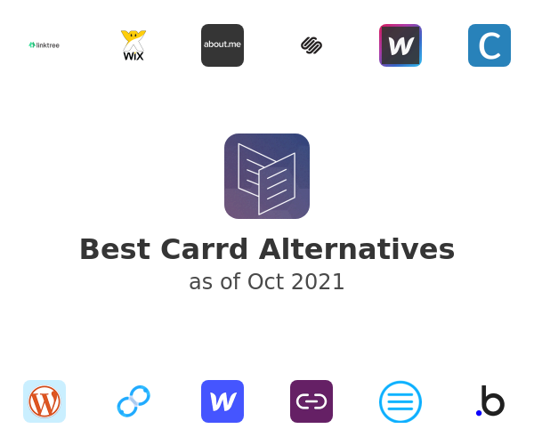 Best Carrd Alternatives