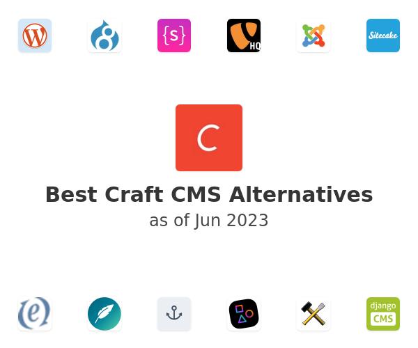 Best Craft CMS Alternatives