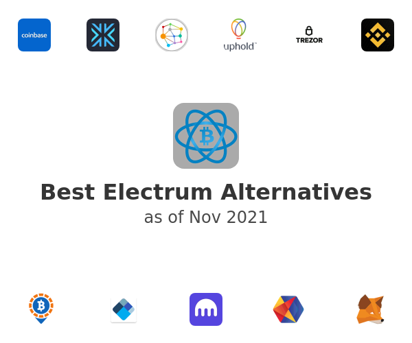 Best Electrum Alternatives