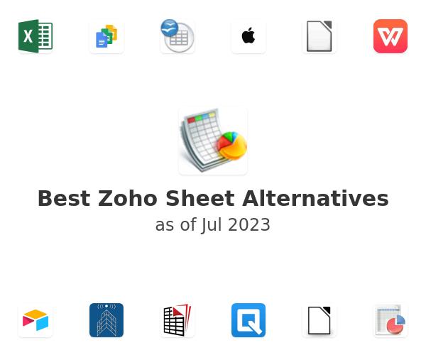 Best Zoho Sheet Alternatives