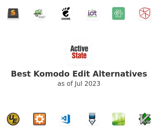 Best Komodo Edit Alternatives