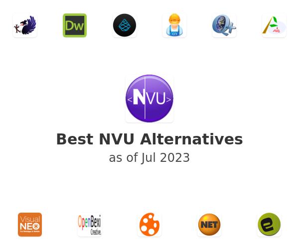 Best NVU Alternatives