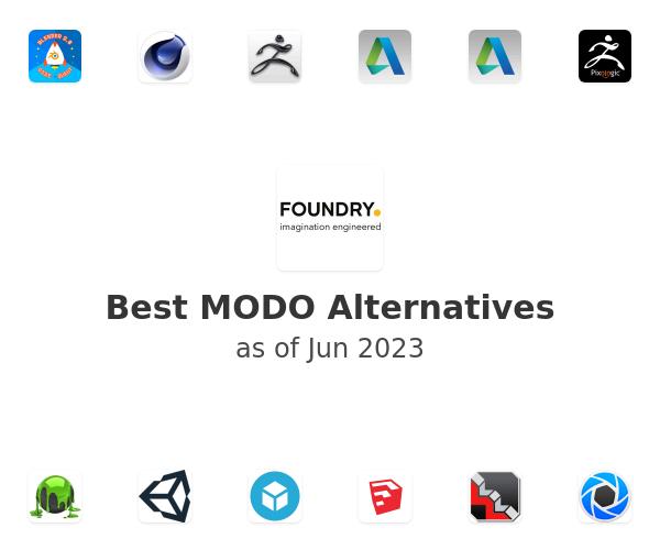 Best MODO Alternatives