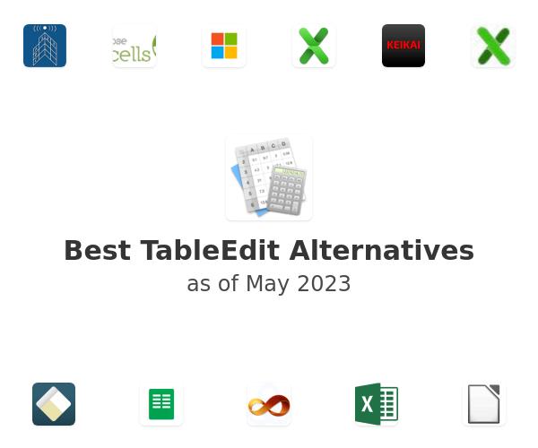 Best TableEdit Alternatives