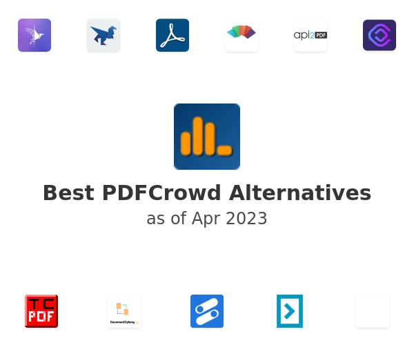 Best PDFCrowd Alternatives