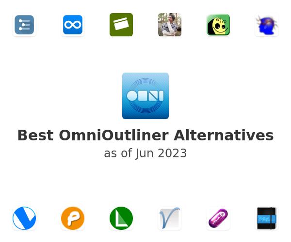 Best OmniOutliner Alternatives
