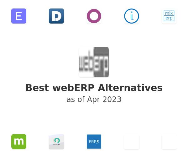 Best webERP Alternatives